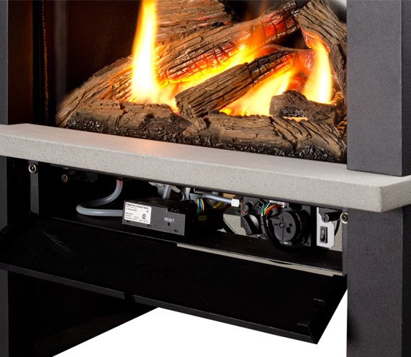 Valor Madrona Gas Stove Controls