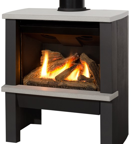 Valor Madrona Modern Gas Stove Picture