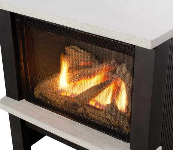 Valor Madrona Modern Gas Stove Screen