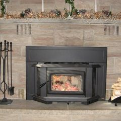 Picture of A Wood Burning Fireplace Insert