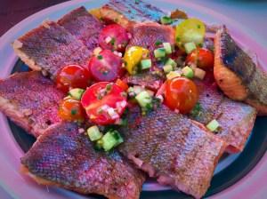 Dianes Fish Bar BBQ Plate