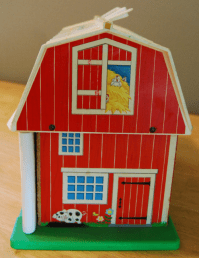 fisher price barnyard - lost & found vintage toys