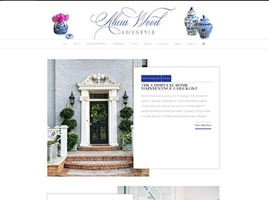 Alicia Wood Lifestyle: blog design, email campaigns, site maintenance