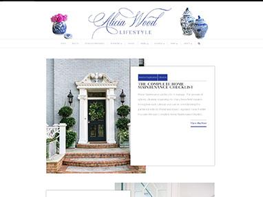 aliciawoodlifestyle.com website image