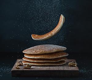 Pancake image for writing tips post