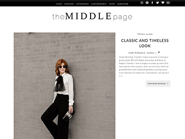 the-middlepage.com website image