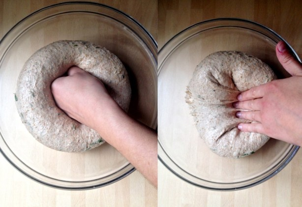 punch the dough