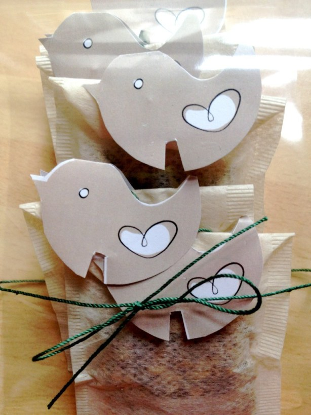 gift teabags