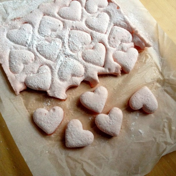 beetroot marshmallows