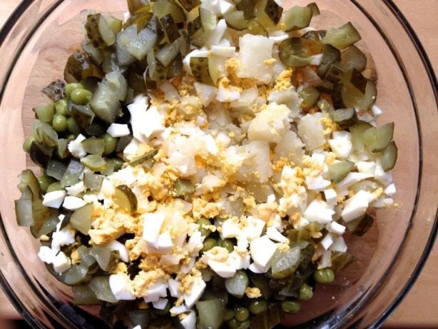 white lithuanian salad recipie