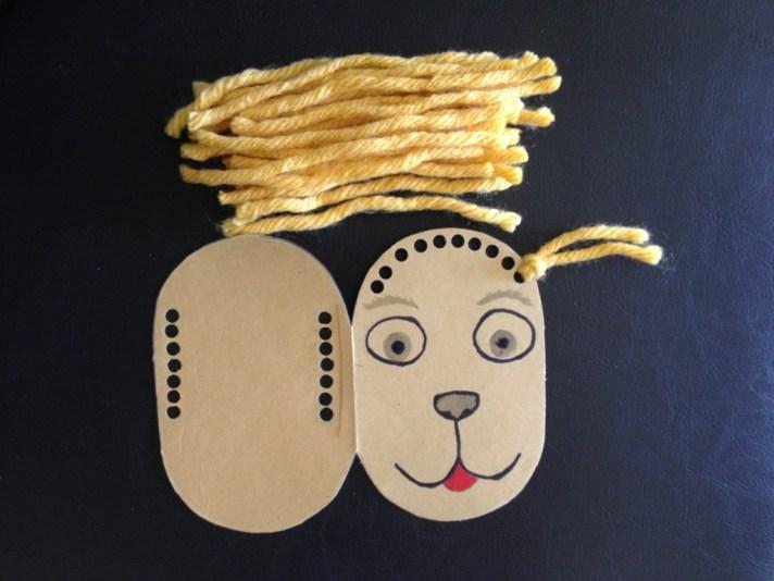 animal gift card DIY