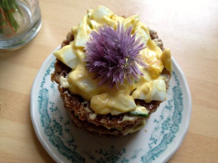 Savoury tea cakes