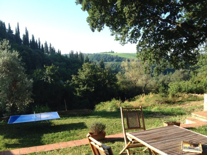 Our apartment in Tuscany