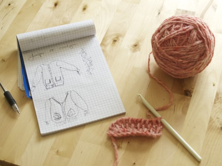 Planning knitted projects: from vision to reality