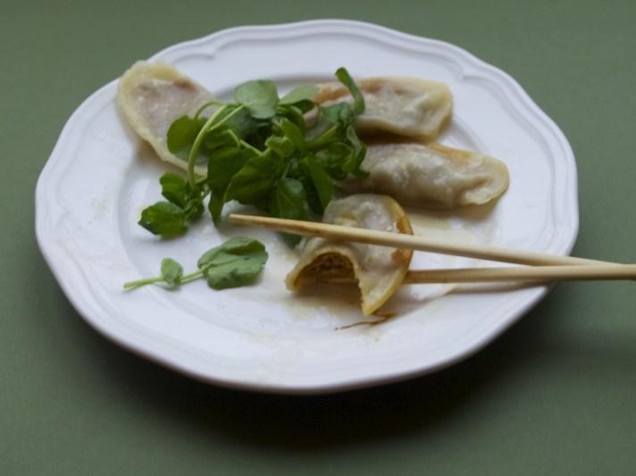 Pork & Shiitake mushroom dumplings