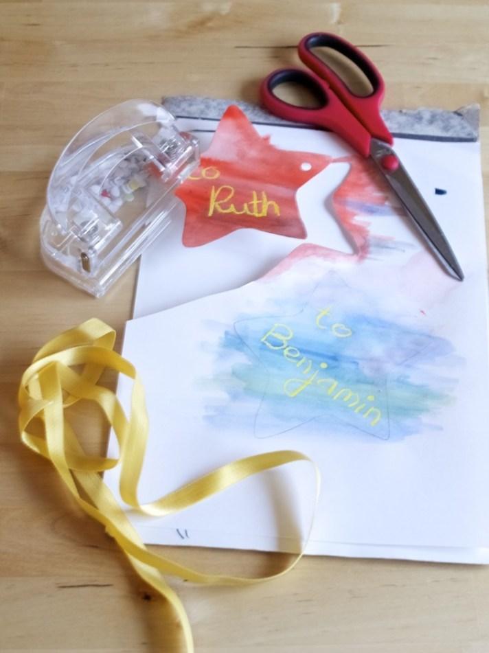 handmade gift tags DIY