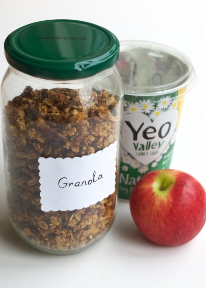 Clean-out-the-cupboard granola recipe