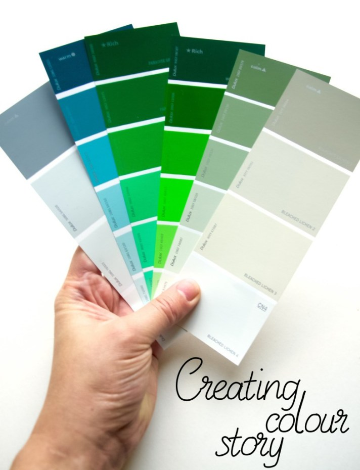 Creating colour story