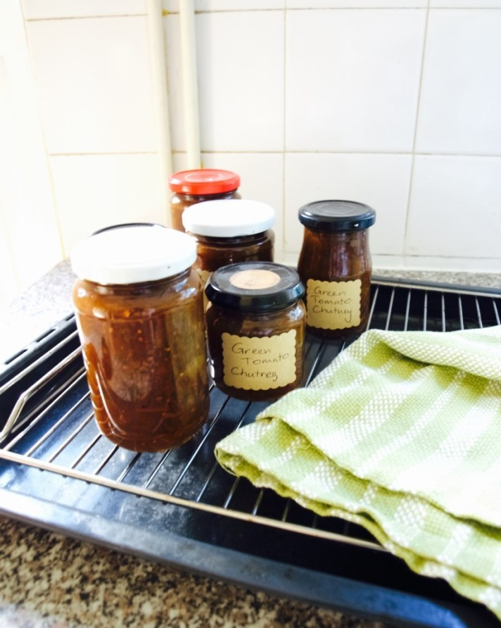 Green tomato chutney recipe