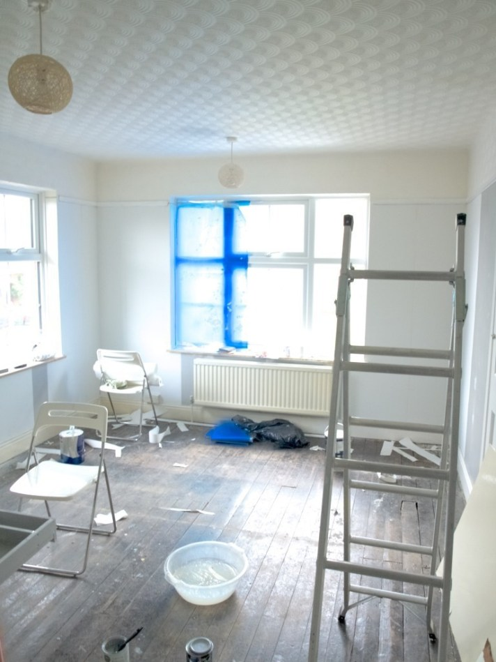 Our bedroom to be in progress