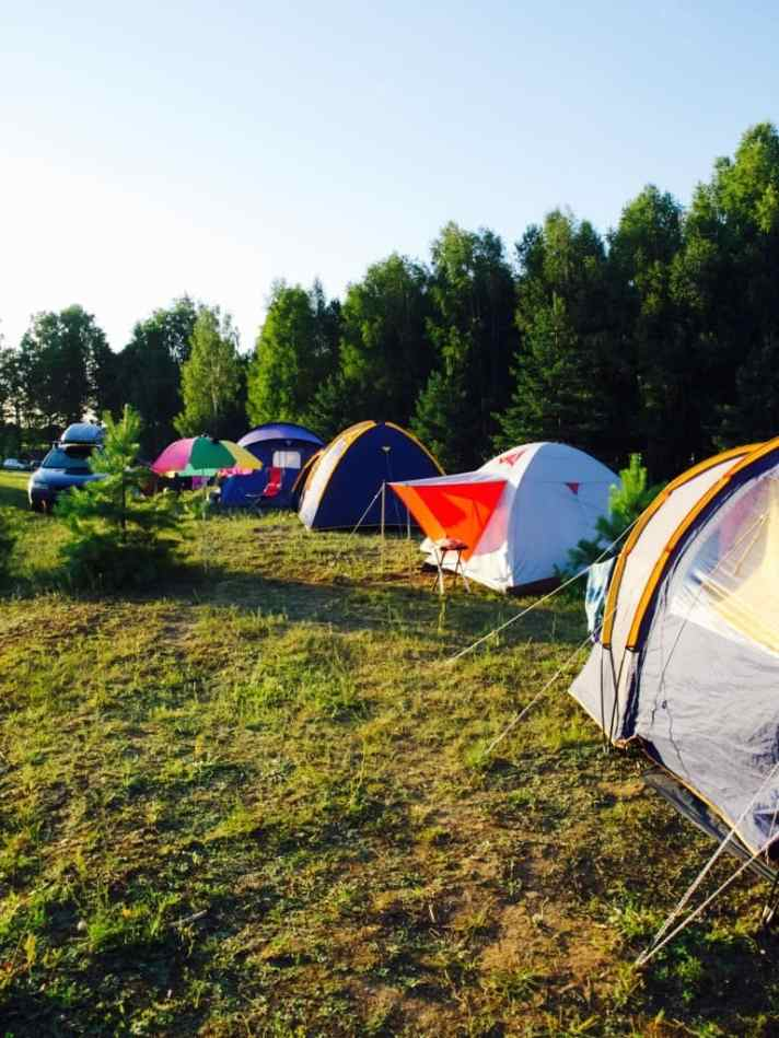 How I camped with a baby and toddler (pics from Lithuanian camp trip)