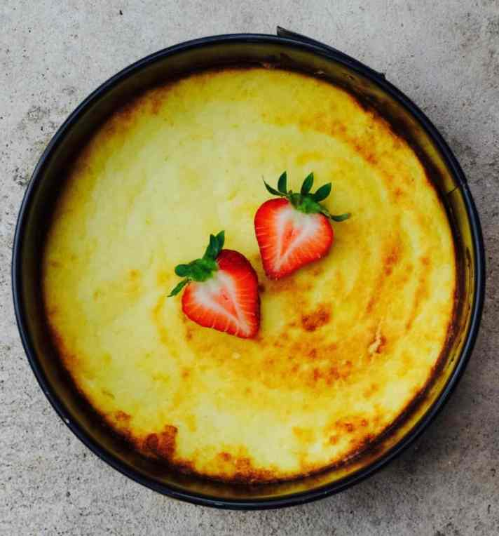 Fit-for-breakfast cheesecake recipe