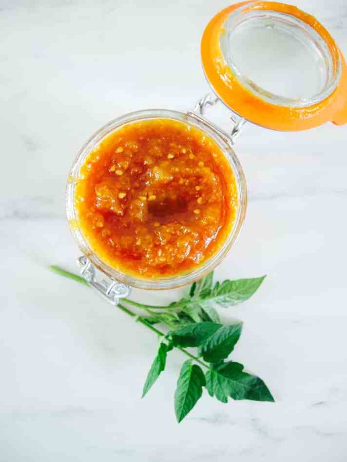 End-of-season tomato jam recipe