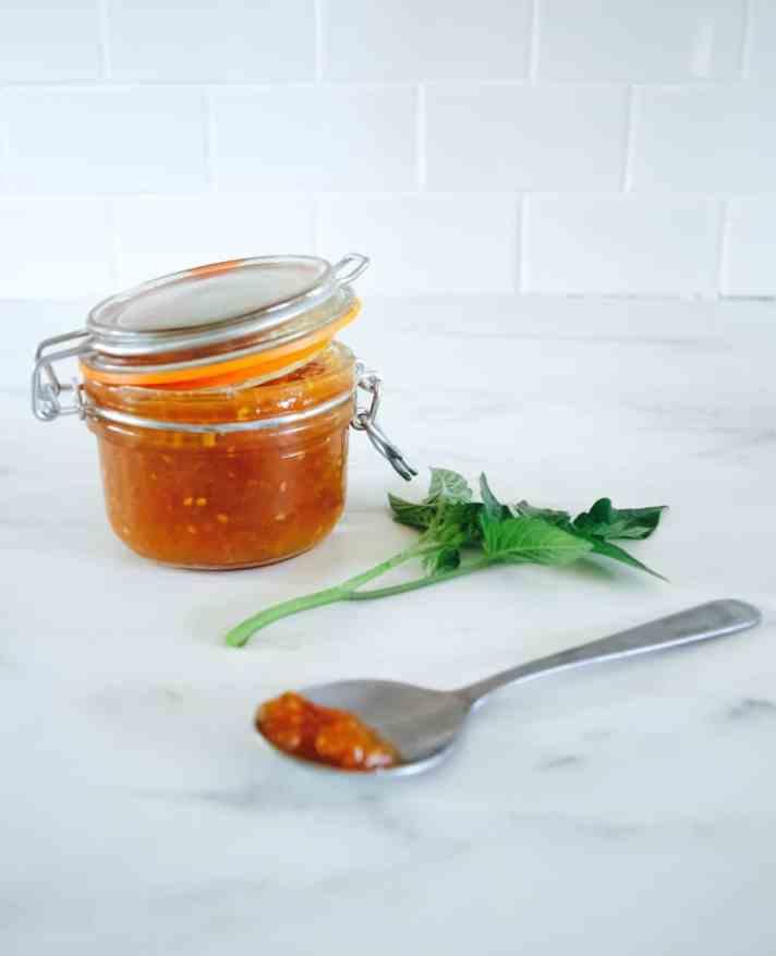 End-of-season tomato jam recipe