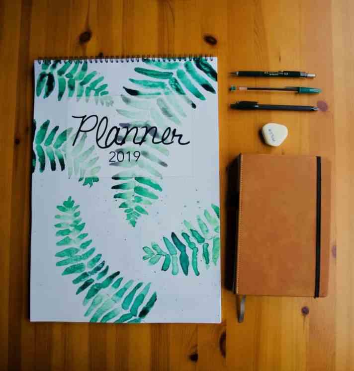 Free printable 2019 planner
