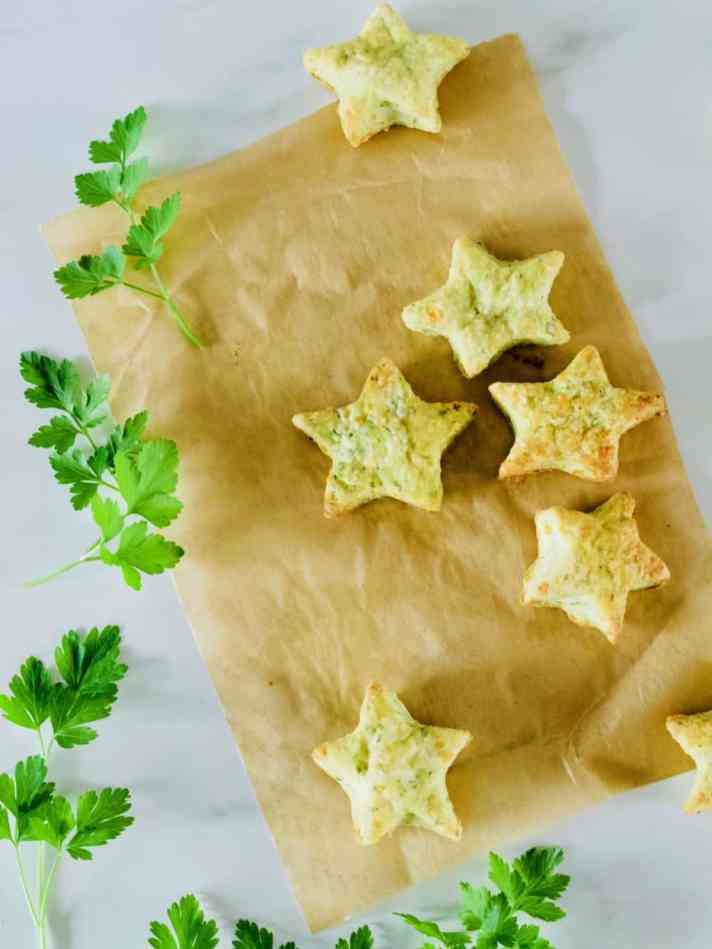 Parsley cheese crackers recipe