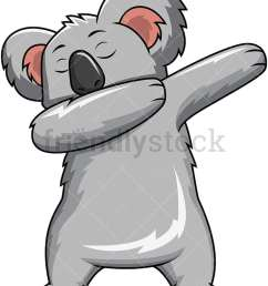 dabbing koala bear vector cartoon clipart [ 800 x 1067 Pixel ]