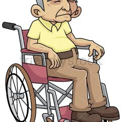 Wheelchair Man Upside Down Chair For Back Pain Disabled Old In Cartoon Vector Clipart Friendlystock Png Jpg And Eps File Formats Infinitely