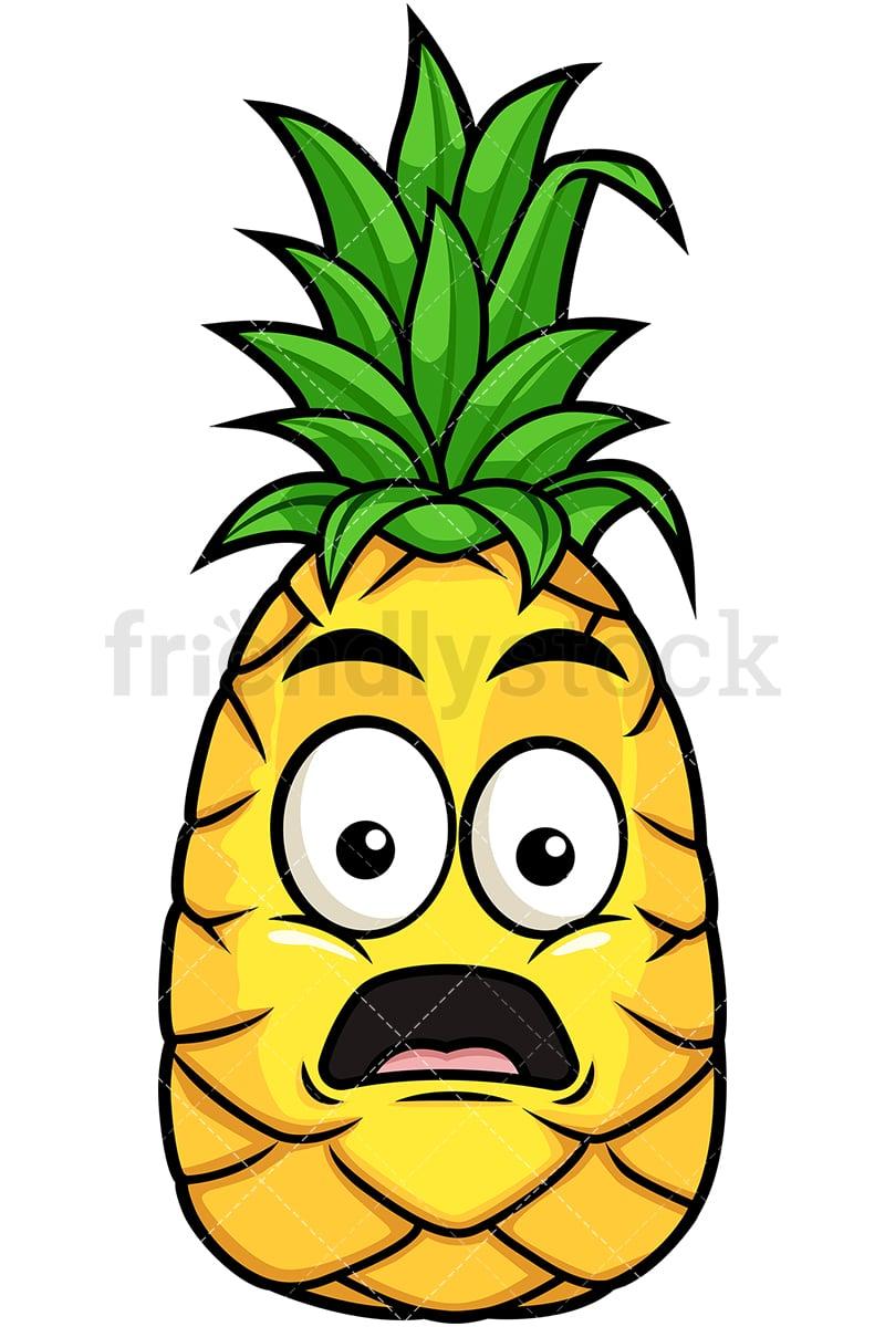 stunned pineapple