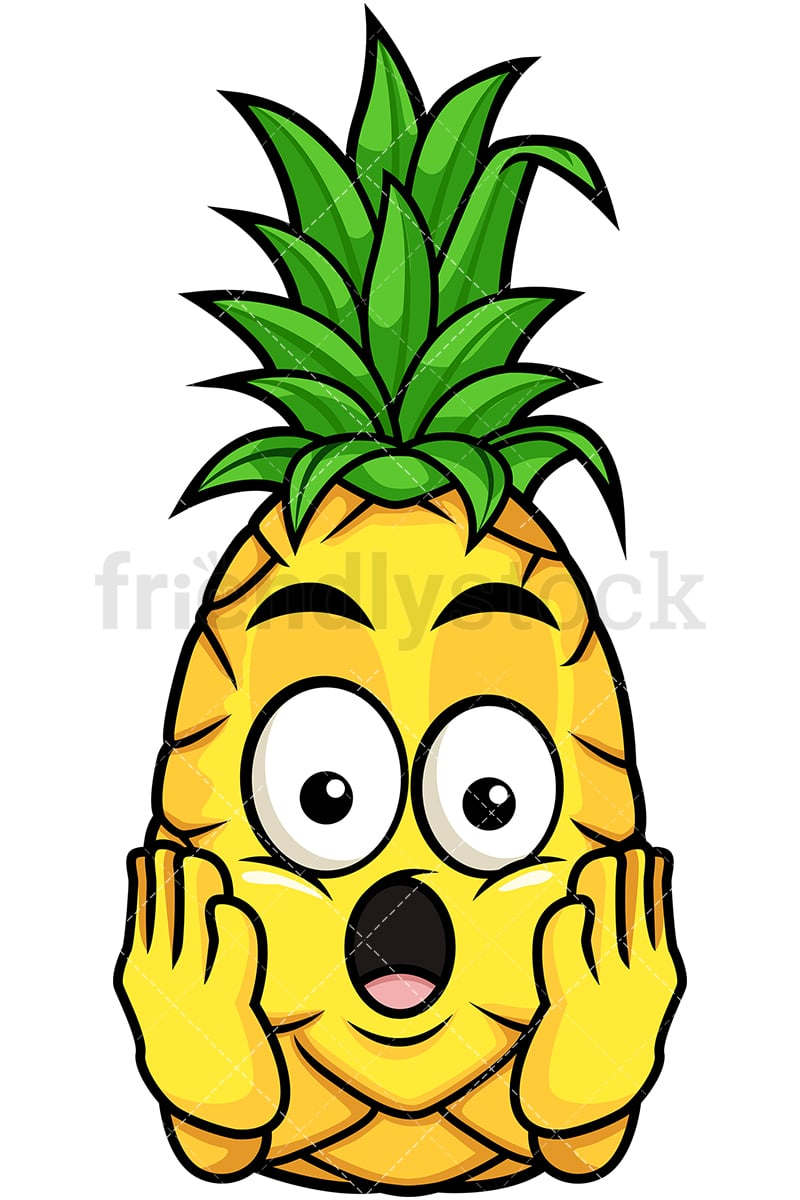 shocked pineapple