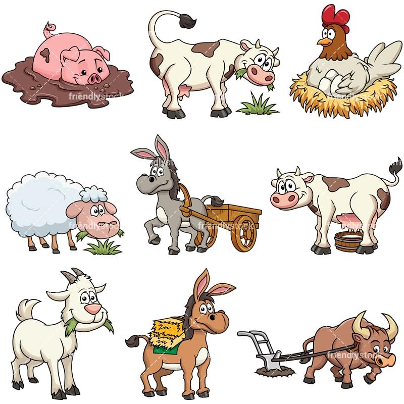 farm animals collection 1