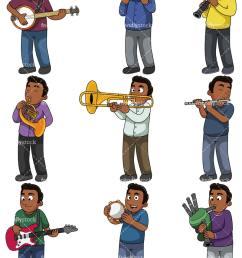 music collection 2 jacob vector cartoon clipart [ 800 x 1067 Pixel ]
