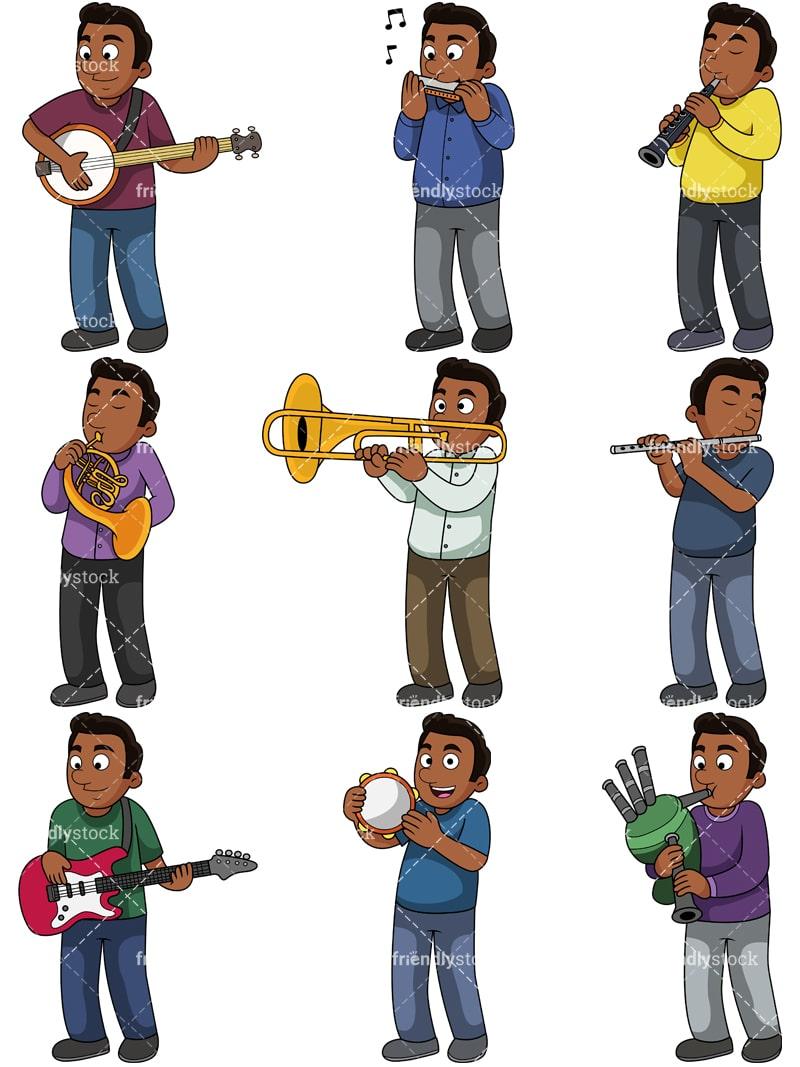 medium resolution of music collection 2 jacob vector cartoon clipart