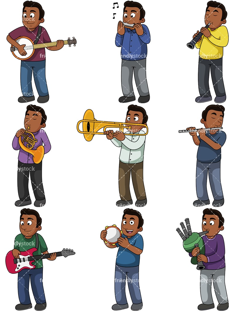 hight resolution of music collection 2 jacob vector cartoon clipart