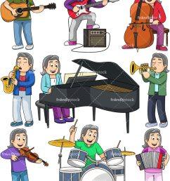 music collection margaret vector cartoon clipart [ 800 x 1067 Pixel ]