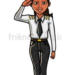 indian woman airline pilot vector cartoon clipart [ 800 x 1200 Pixel ]