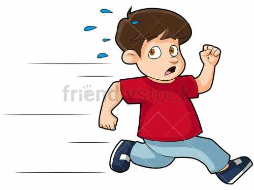small resolution of scared little kid running away png jpg and vector eps infinitely scalable