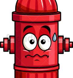anxious fire hydrant emoji vector cartoon clipart [ 721 x 1196 Pixel ]