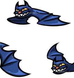flying halloween bats png jpg and vector eps file formats infinitely scalable  [ 1194 x 678 Pixel ]