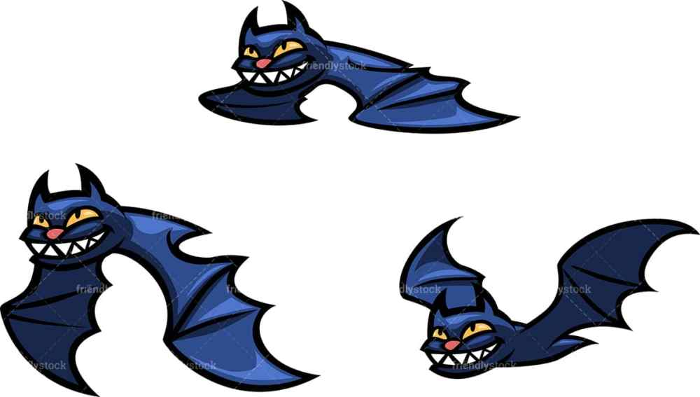 medium resolution of flying halloween bats png jpg and vector eps file formats infinitely scalable