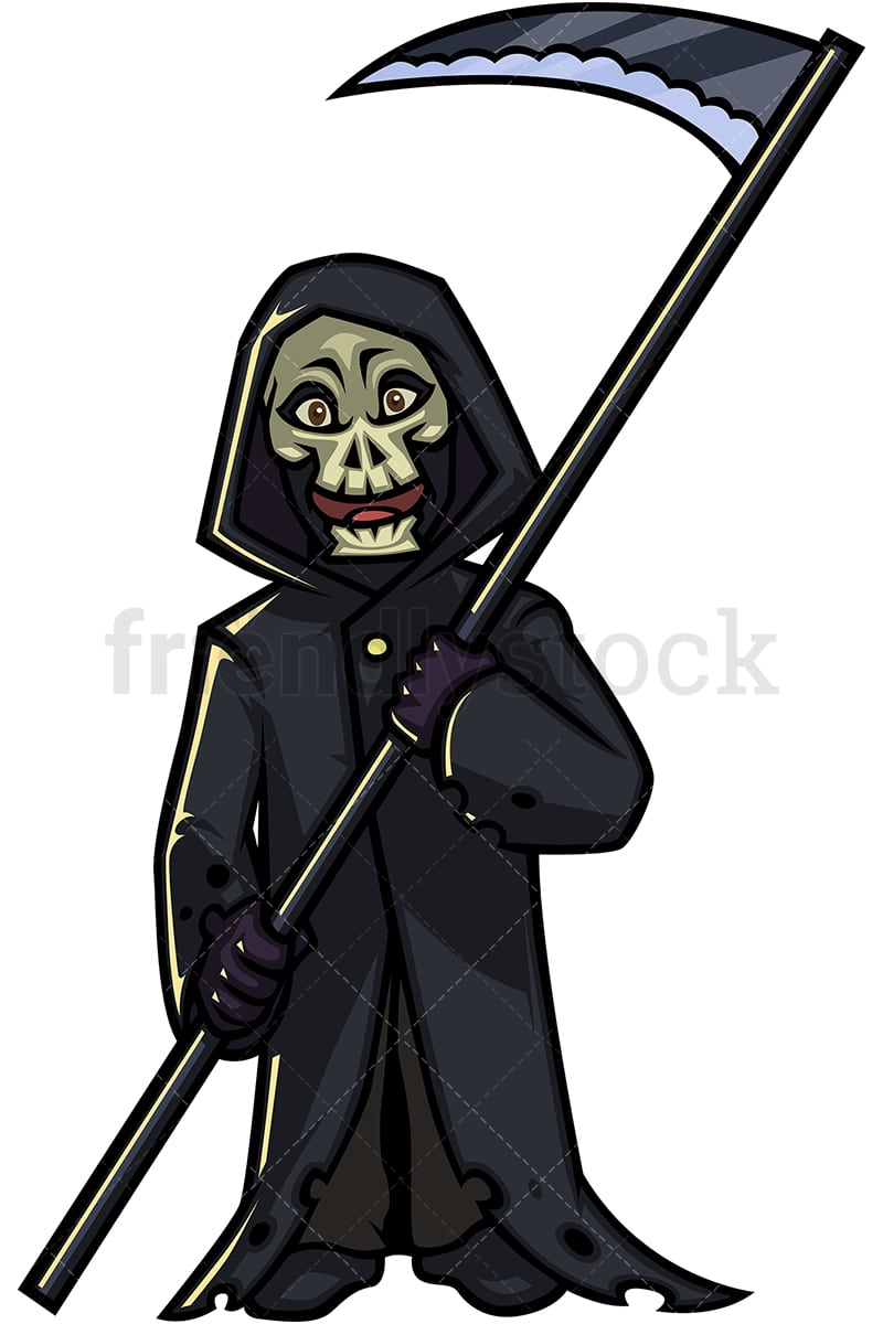 hight resolution of halloween grim reaper cartoon character png jpg and vector eps infinitely scalable