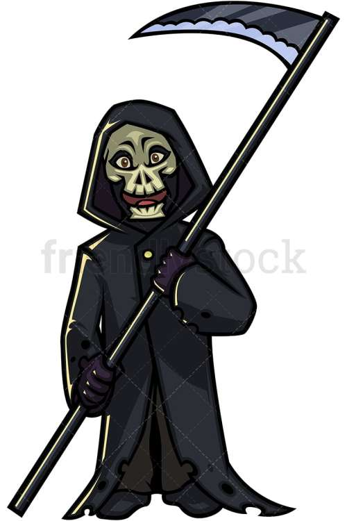 small resolution of halloween grim reaper cartoon character png jpg and vector eps infinitely scalable