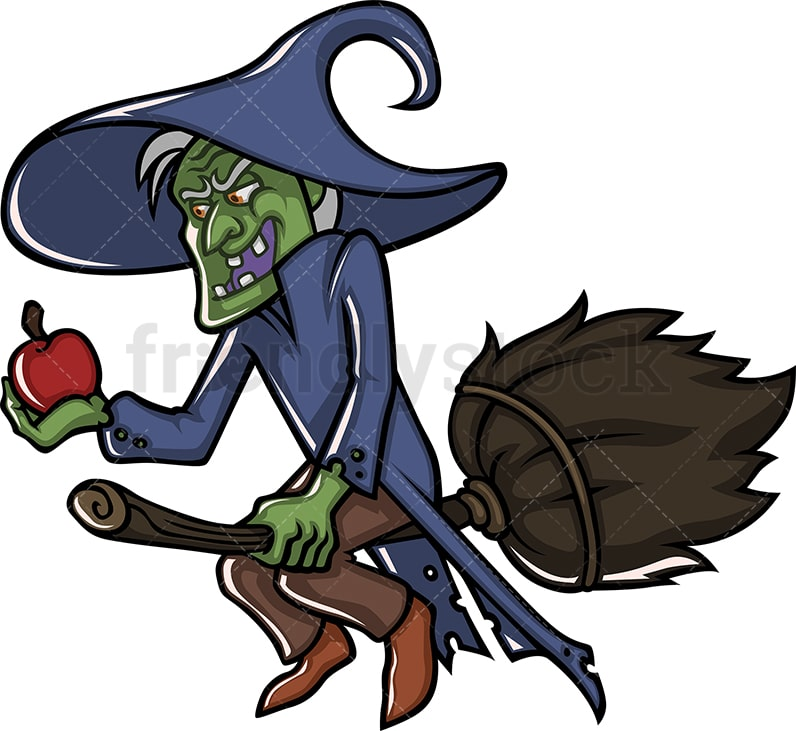 wicked old witch character