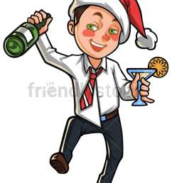 drunk man in christmas party png jpg and vector eps file formats infinitely [ 800 x 1067 Pixel ]