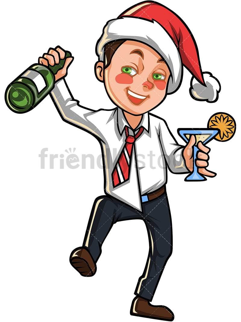 medium resolution of drunk man in christmas party png jpg and vector eps file formats infinitely