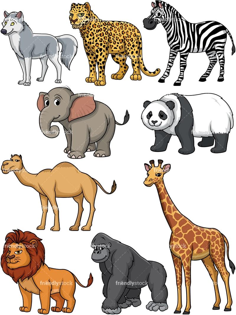 wild animals collection 1